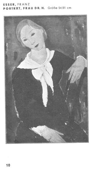 Abb. aus 'Katalog zur Ausstellung Kölner Künstler 1930 im Kölnischen Kunstverein'